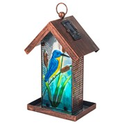 Fountasia Bird Feeder-kingfisher Solar (35045)